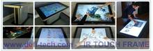 49 inch Infrared Touch Panel for Digital Signage / interactive multi touch overlay-40 Touch Points,No light spots