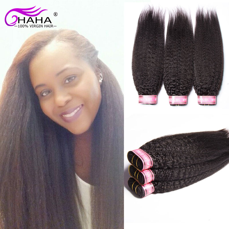 50% Off Sales Wholesale raw indian hair kinky straight hair extensions 5 Pcs premiun too yaki human hair ali queen hair products<br><br>Aliexpress