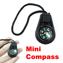 1PC Mini Keychain Compass Backpack Bag Strap Camping Brunton Mini Compass for Outdoor Camping Hiking Hunting