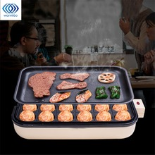 24 Holes Takoyaki Grill Pan Plate Cooking Octopus Balls Maker Meat Roast Baking Tools Mold Kitchen Cooking Tools Cookware 2 In 1