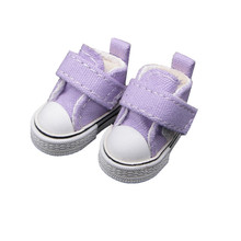Tilda 3.5cm Mini Doll Shoes For Blythe Doll,Mini Toy Doll 1/6,Canvas Sneakers Casual Shoes for BJD Doll,High Quality 5 Pairs/lot(China)