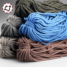 Wholesale 6mm 9 color high strength Handmade home DIY Rope Woven polyester fiber Cords for home accessories Craft Projects S003(China)