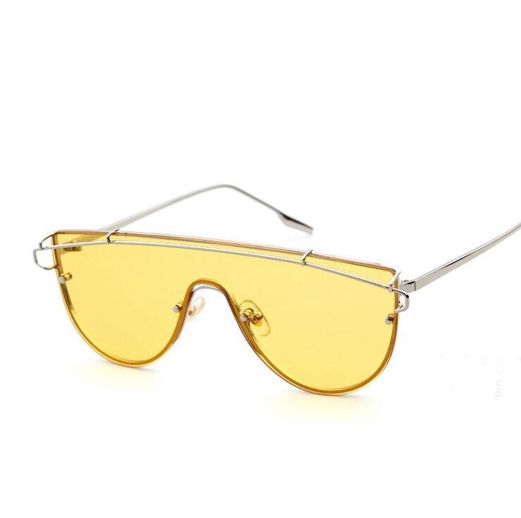 Vintage Gold Frame glasses Transparent Glasses Women Men One Piece 2017 Brand Design Clear Lens Optical Aviation Glass Lunette<br><br>Aliexpress