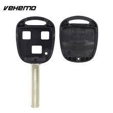 Vehemo Car 3 Buttons Key Shell Case Scratchproof Housing Cover With Blade For Lexus(China)