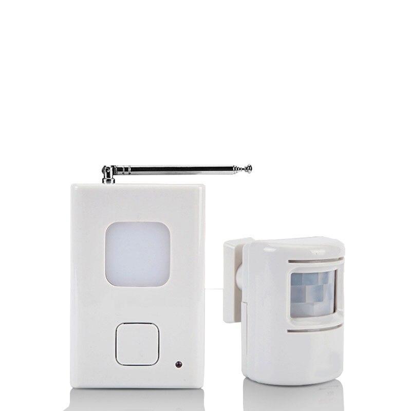 HGhomeart The doorbell wireless greeter burglar alarm bell Welcome to the doorbell infrared human sensor<br>