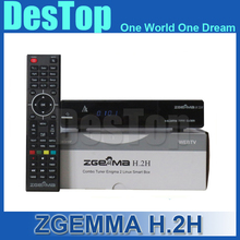 5pcs/lot Best Sale Zgemma H.2H Satellite Receiver HDMI Original Linux OS Enigma2 DVB-S2+DVB-S2 Twin Tuner DHL Free Shipping