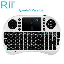 Rii mini i8 PRO Wireless Gaming Mini Keyboard 2.4G multitouch Touchpad mouse combo For Ipad/PS3/XBox/Android/Smart TV Box Gamer
