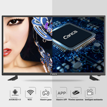 CANCA Android TV Quad-Core Smart TV WIFI Full HD Media Player Support DTB USB HDMI VGA Monitor Android4.4 DLNA English(China)