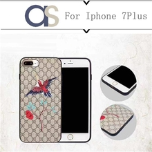 BK For Iphone 7 Plus Mobile Phone Case China Classic Embroidery IPhone Cover Fashion PU Cortex Flowers and birds Case For 6sPlus