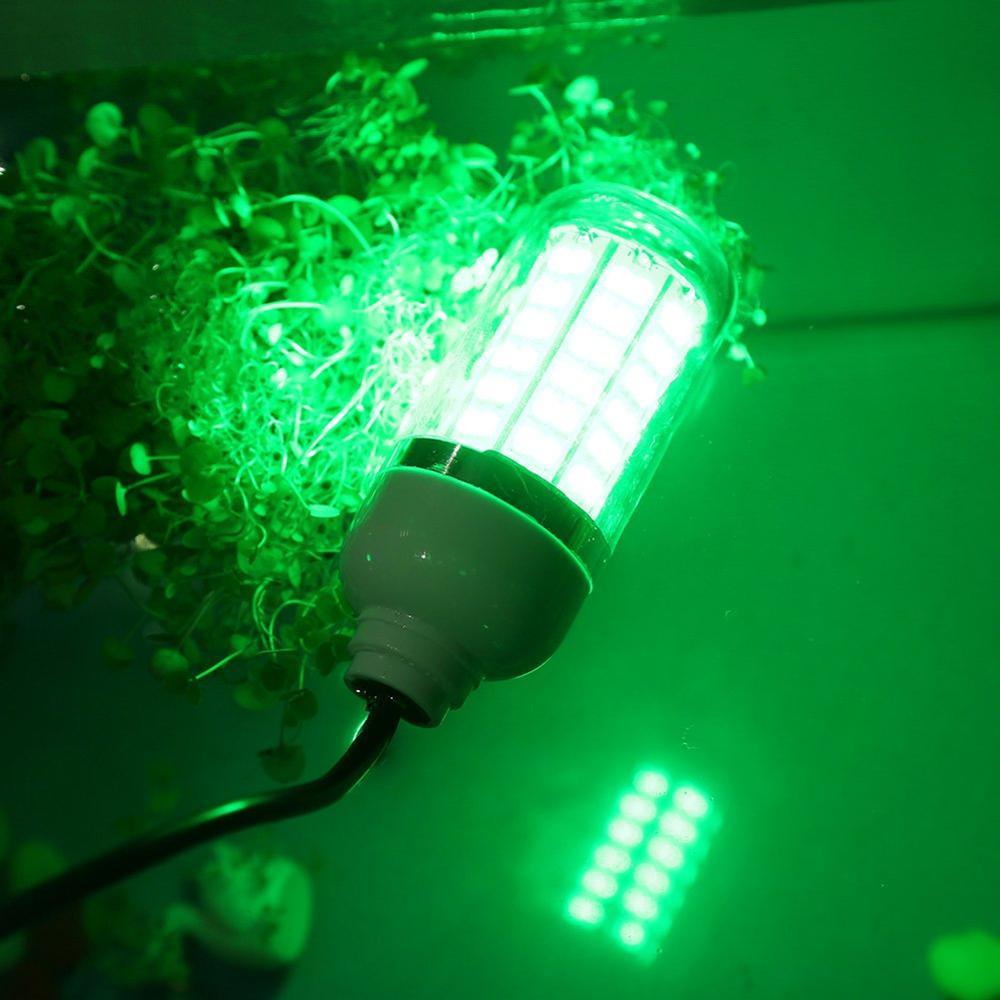 Underwater LED Fishing Light Bait Lure 6 LEDs 12V For Marine Boat Fishing Light