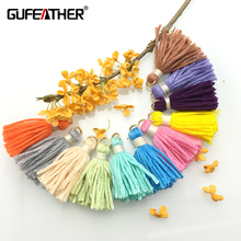 GUFEATHER 30MM Thick cotton tassels/tassel/jewelry accessories/jewelry findings/cotton tassel 20PCS