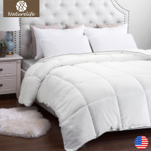 Naturelife Warm New Full Filling Duvet High Quality White Down Duet Breathable down Comforter edredom futon(China)