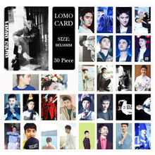 Youpop KPOP EXO DO For Life EXACT Album LOMO Cards K-POP New Fashion Self Made Paper Photo Card HD Photocard LK424