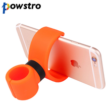 Powstro Bicycle Car Cell Phone Holder Universal 360 Degrees Phone Stands for iPhone 6 Plus/5s/5/4s For Samsung HTC