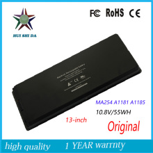 10.8V 55WH New  Original   Laptop Battery for APPLE MacBook  A1185 A1181 MA254