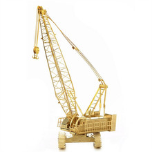 3D Metal Model Puzzles CRAWLER CRANE Golden Chinese Metal Earth Brass ICONX Etching Assembly Creative Gifts
