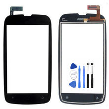 Free Shipping 3.7'' For Nokia Lumia 610 N610 Touch Screen Digitizer Sensor Front Glass Lens panel with Tools