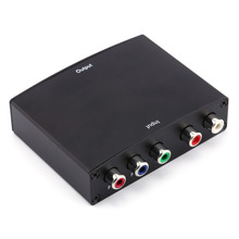 Component RGB YPbPr to HDMI Converter Video Audio Adapter YPbPr/RGB + R/L audio to HDMI AV 1080P(China)