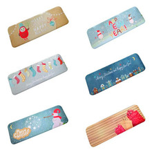 Hot 40*120 Christmas HD Printed Merry Christmas Non-Slip Skid Bath Mat Absorbent Waterproof Home Decor Bathing Pad