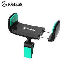 TOMKAS Universal Car Phone Holder For iphone 7 6 5 Air Vent Mount 360 Adjustable Car Holder Mobile Phone Stand For Samsung s8(China)