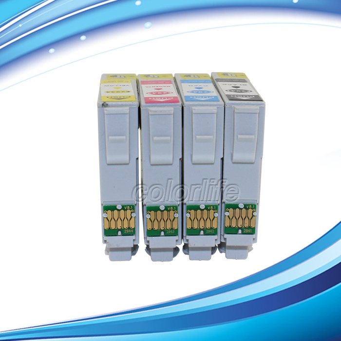 Replacement ink cartridge T2941 T2942 T2943 T2944  for WF-2630 WF-2650 WF-2660<br>