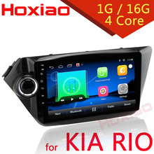 Android 6.0 for Kia k2 RIO 2010 2011 2012 2013 2014 2015 2 din 9 inch 1024*600 Wifi SD/USB Radio Car dvd player GPS navigation(China)