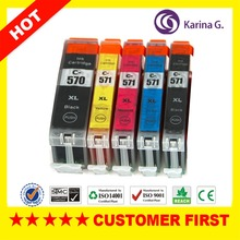 Buy 5X Compatible Inkjet Cartridge Canon PGI-570 CLI-571 MG5750 MG5751 MG5752 MG5753 MG6850 MG6851 MG6852 MG6853 Printer Ink for $14.43 in AliExpress store
