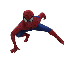 the amazing spiderman costume suit for kids cosplay costume Halloween costume for kids T46155(China)