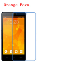 5 Pcs Ultra Thin Clear HD LCD Screen Guard Protector Film With Cleaning Cloth For Orange Fova.(China)