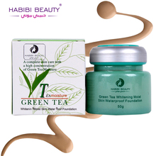 Buy Habibi Beauty 2017 Base Make Women Oil-control Natural Green Tea Moisturizer Whitening Brighten Face Makeup Foundation for $5.57 in AliExpress store