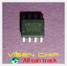 10pcs AP6901GSM-HF  AP6901GSM  6901GSM  DUAL N-CHANNEL MOSFET WITH SCHOTTKY DIODE