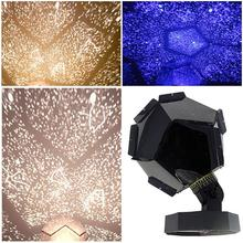 3 Colors Cosmos Star Projector Laser Projector Starlight Romantic Night Light Novelty USB Table Lamp Warm/White/Blue(China)