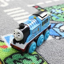 Thomas & His Friends-New Diecast Metal Thomas Electric Train Toys Thomas & Friends Mini Electronic Motorized Toy For Kids Gifts(China)