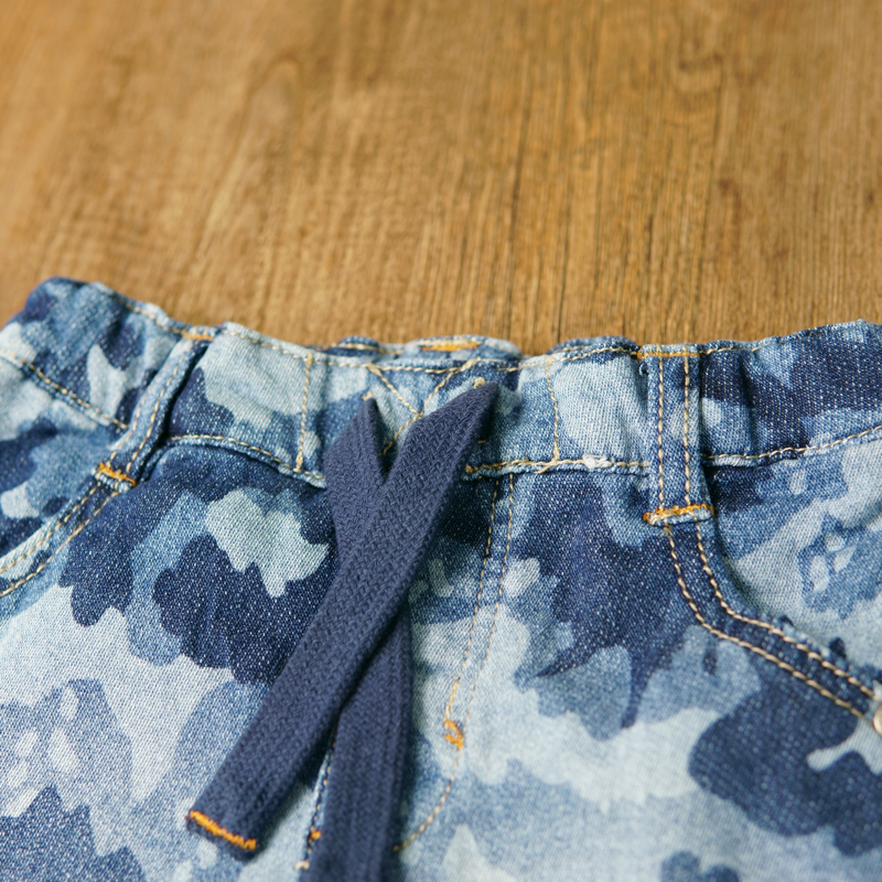 HSIN1701014 (3-0)Baby Denim Jeans Pants Warm Soft Leggings Boys Girsl Newborn Bebe Harem Trousers Infant Toddler Blue Pantalones Children Clothes