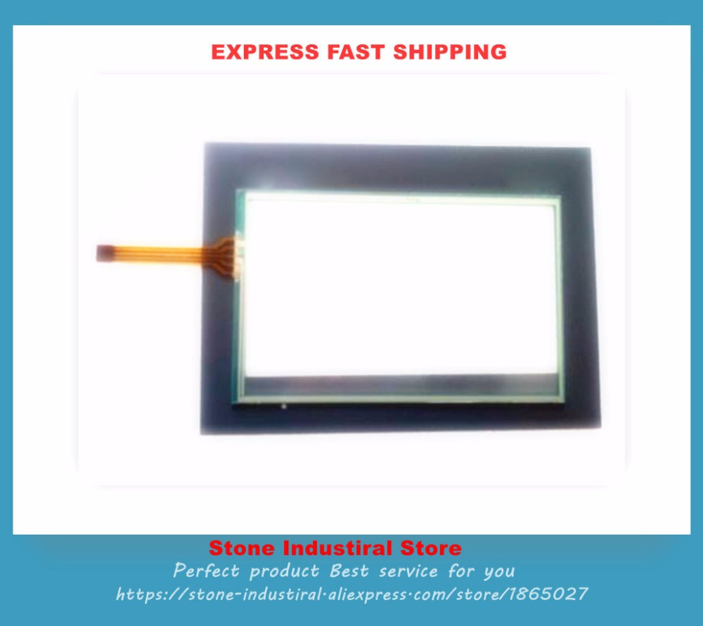 touch glass and mask film a set for HMIGXO3501 touch screen new<br>