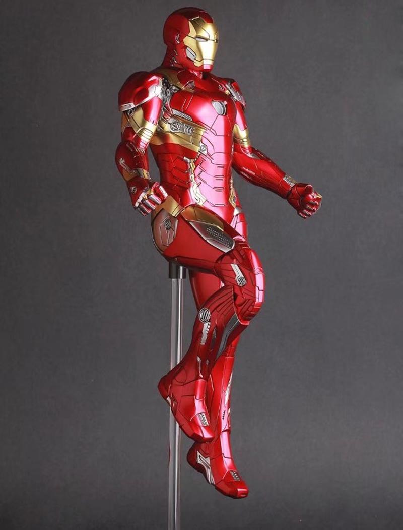 Crazy Toys Iron Man Mark XLVI Action Figure 1 6 scale painted Figure Iron Man Mk46 PVC Action Figures Toy Brinquedos  (2)