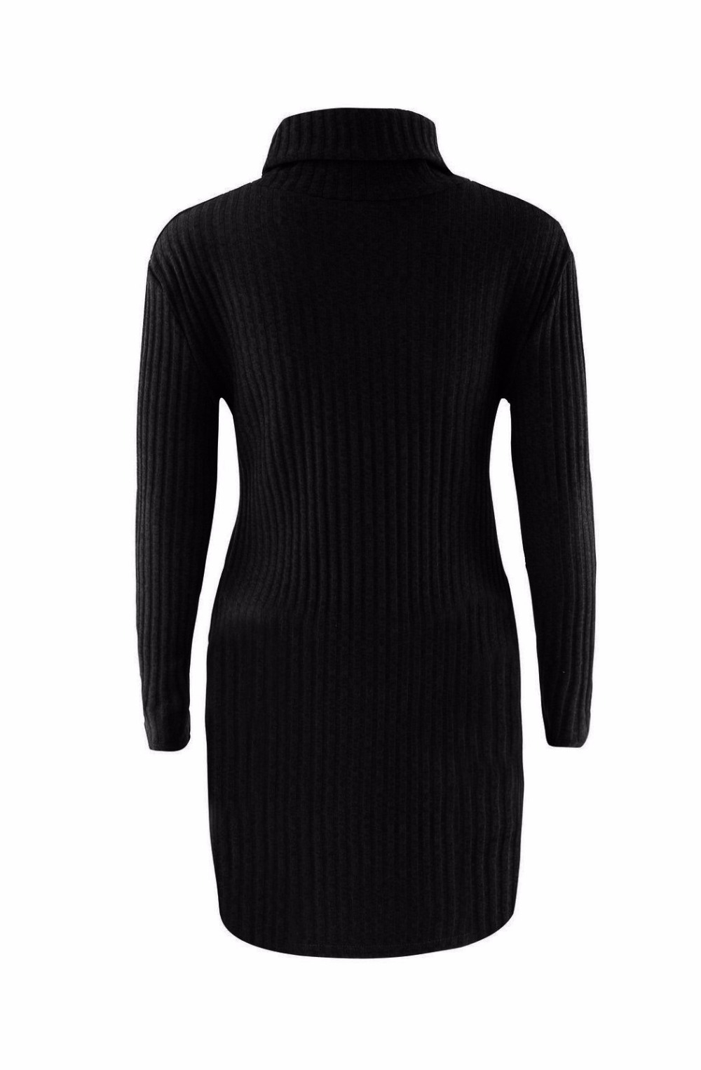 Turtleneck Long knitted pullover sweater, Women's Jumper, Casual Sweater 40