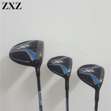 ZXZ Golf Clubs XR Golf Driver + Fairway Woods 3PCS putter irons wedge hybrid utility complete set M2 G30 G400 Majesty MEN(China)