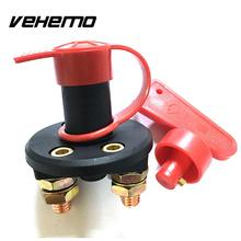 Vehemo New 12V/24V Electricity Cut Off Power Kill Switch Battery Isolator Cover Universal Type High Quality(China)