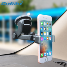 Cobao Dashboard Universal Phone Car GPS Holder 360 Rotation Mount Holder for iPhone Samsung Smartphone Mobile phone stand(China)