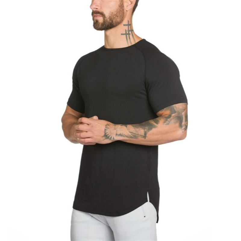 gyms clothing fitness t shirt men-0