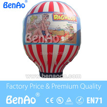 AG015 High quality and cheap prices Customized logo Advertising Inflatable Ground Balloon/Inflatable cold air balloon