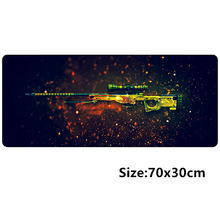 70*30cm CSGO Game Mouse pad L XL Large Gaming mousepad gamer mouse mat pad CS GO Gun AWP Dragon lore AK47 M4 Can be Customized