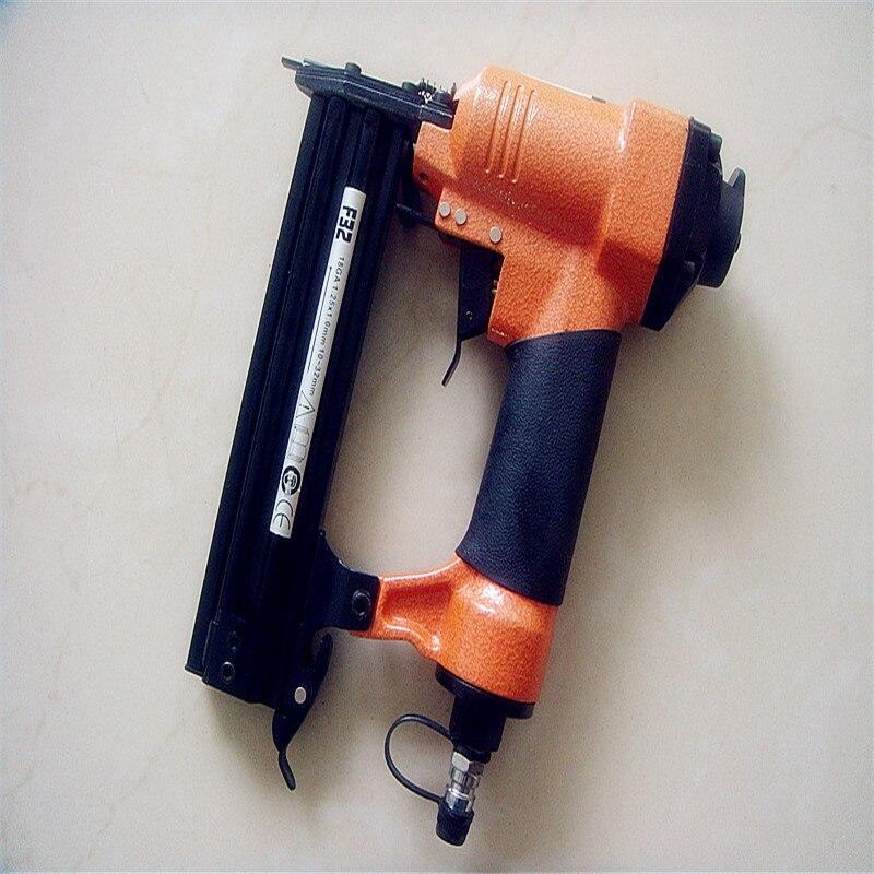 Free Shipping Air Nailer gun pneumatic air stapler power tools pneumatic tools air tools F32 nail gun<br>