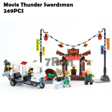Compatible Lego Toys 70607 Model Building Blocks Bricks Toys hobbies Bela 10714 Ninjago Movie Thunder Swordsman
