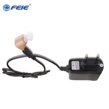 Free shipping 2pcs lot deaf ear headphones recharge S-216 innovative products health care hearing aids cheap(China)