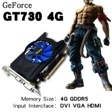 Buy Graphics Card 4GB GDDR5 128Bit PCI Express Game Video Card Graphics Card 128Bit PCI Expansion Port GT730 Cooler Fans for $44.99 in AliExpress store