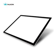 New Huion A3 Led Light Pad Acrylic Panels Professional Tattoo Light Pad Cartooning Light Boxes Handwriting LED Tracing Boards(China)