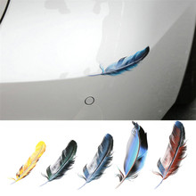 Hot Sale Covers Feathers Stickers Exterior Interior Decal Scratch Sticker The Whole Body Windows Car Styling