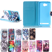 Luxury PU Leather Case For Huawei Y3 II Y3 2 /Y5 II Y5 2/Y6 II Y6 2 Phone Cases Flip Wallet Stand Cover&Hand Strap